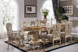Italian Dining Tables And Chairs Baroque Antique Style Italian Dining Table 100 Solid Wood Italy