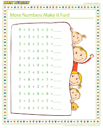 more numbers make it fun free printable math worksheet for 3rd