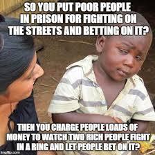 Fighting Memes - third world skeptical kid meme imgflip