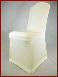 Ivory Spandex Chair Covers Wedding Chair Cover Hire