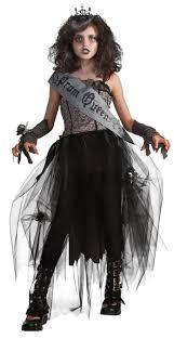 1700s Halloween Costumes Goth Prom Queen Child U0027s Zombie Halloween Costume Costumes
