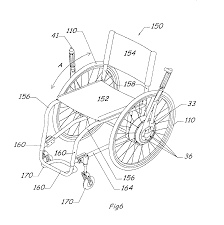 patent us6893035 wheelchair drive mechanism google patents