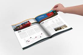 transport u0026 delivery indesign template brochure on behance