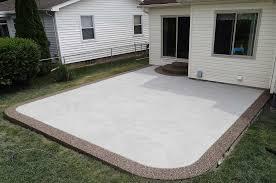 stamped concrete patios unique cement photos michigan