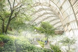wan oman botanic garden by arup grimshaw and haley sharpe design