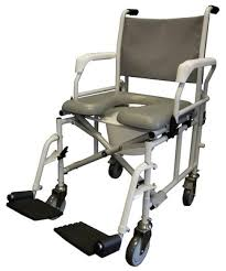 Shower Chair On Wheels Tuffcare S900 Shower Commode Chair With 6