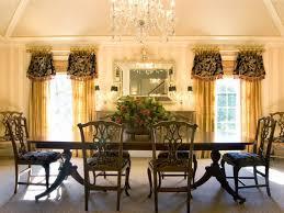 Formal Dining Room Dining Room Drapes Ideas Formal Curtains Basics Sheer Rod Pocket