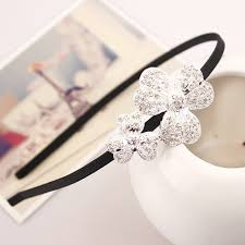 fawn headband korean shining rhinestone headband alloy flower fawn frame retro