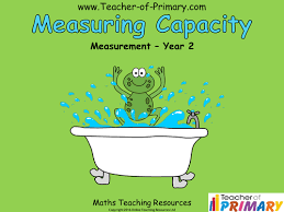 capacity measurement for year 2 worksheet by meganainsworth