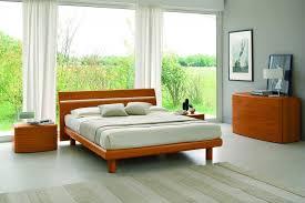 modern cherry italian bed