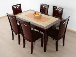 6 Seater Oak Dining Table And Chairs Kitchen Extraordinary Solid Oak Dining Table Marble Breakfast