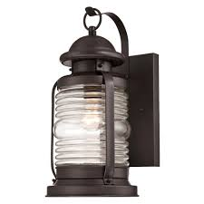 Jelly Jar Light With Cage by Westinghouse Weatherby 1 Light Weathered Bronze Outdoor Wall Mount