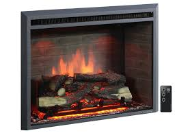 puraflame western 33 inch embedded electric firebox heater with