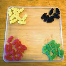 how to make a dna double helix from jelly babies and liquorice