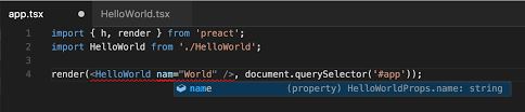 hello world with preact jsx u0026 typescript u2013 shane osbourne u2013 medium