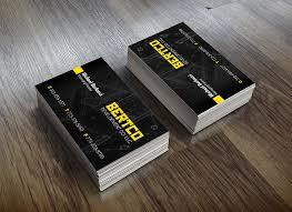 Business Card For Construction Company Bertco Development Business Card Jin Li