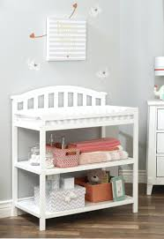 dream on me changing table white dream on me emily changing table cubed me