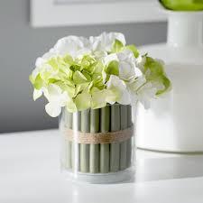 white hydrangea bouquet hydrangea bouquet centerpiece in vase reviews birch