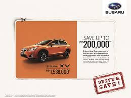 subaru philippines save 200k with subaru xv purchase u2013 wheels philippines