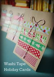 washi tape christmas stitch handmade christmas decorations
