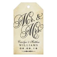 wedding gift labels antique wedding gift tags zazzle