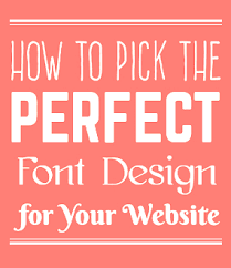how to choose colors how to pick the best font for your website in 2017