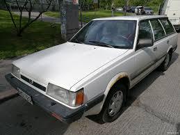 subaru leone hatchback subaru leone station wagon 1989 used vehicle nettiauto