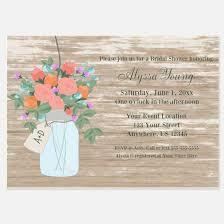 Mason Jar Bridal Shower Invitations Bridal Shower Invitations Bridal Shower Announcements U0026 Invites