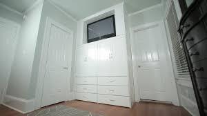 adding a built in closet video hgtv