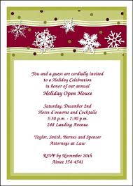 Open House Invitations Holiday Business Open House Invitation 7296cs Bh
