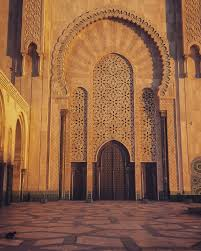 hassan ii mosque casablanca morocco cats are so relaxed in this
