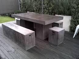 Outdoor Concrete Patio Brilliant Concrete Patio Furniture 25 Best Ideas About Concrete