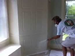 Spray Paint Ceiling Tiles by Spray Painting Cabinets New Gloucester Painting Company Youtube