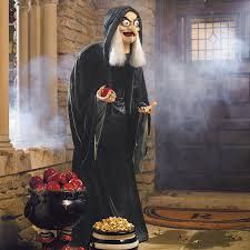 filmic light snow white archive life size animated old hag for