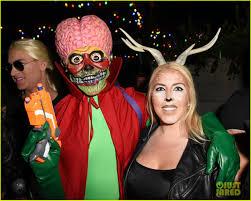 plastic surgery halloween mask gregg sulkin u0026 nolan funk hit up just jared u0027s halloween party