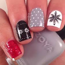 67 best nail art winter holiday manicures images on pinterest