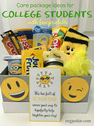 care package for college students care package ideas for your college kids 3 essential elements