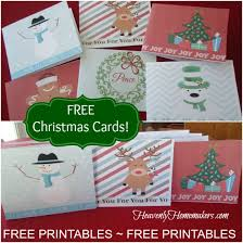 free printables christmas cards heavenly homemakers