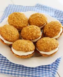Soft Carrot Cake Sandwich Cookies