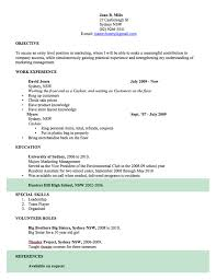Formatting Education On Resume Cv Template Free Professional Resume Templates Word Open Colleges
