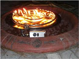 Fire Glass Pits by How To Build A Propane Fire Pit