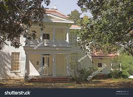 abandoned old southern style plantation house stock photo 4848172