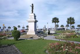 memorial monuments florida memory view showing memorial monument to ponce de
