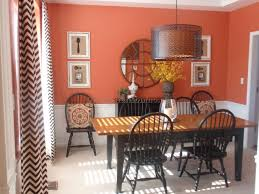 dining room color ideas with chair rail pictur 8167