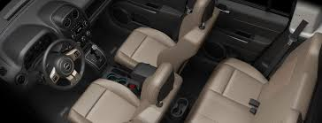 jeep patriot passenger capacity 2017 jeep patriot comfortable interior features