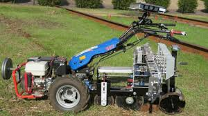 Walk Behind Seed Planter by No Till Transplanter For Walk Behind Tractors Youtube