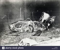 porsche spyder 1955 james dean died in this porsche spyder on 30 septem ber 1955 stock