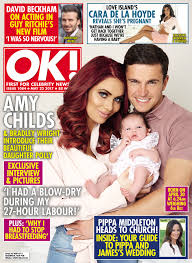 amy childs reveals the name of her baby goodtoknow