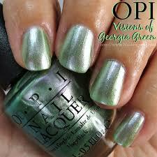 opi green nail polish vision of georgia green its a simple shade