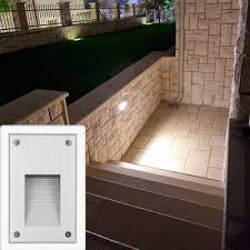 Recessed Outdoor Wall Lights Liam Led Recessed Wall Light Vertcal 5w3k 230vip65 Globelink
